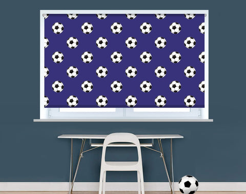 Everton Football Pattern Image Printed Picture Photo Roller Blind - RB9403 - Art Fever - Art Fever