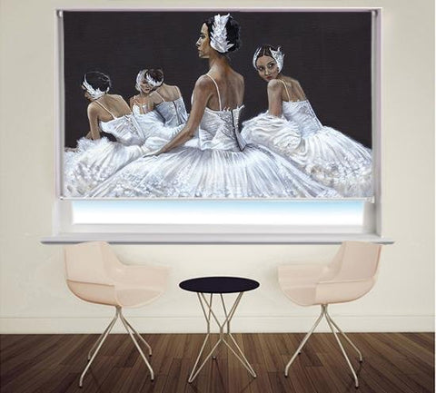 Final Rehearsal | Ballet by Pam Morton Printed Picture Roller Blind - RB868 - Art Fever - Art Fever