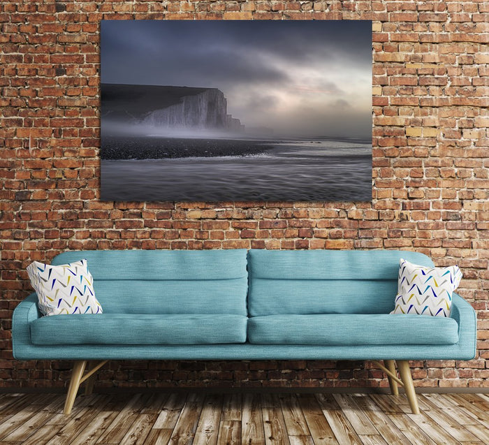 Foggy Sunrise Seven Sisters Canvas Print Wall Art Picture - SPC147 - Art Fever - Art Fever