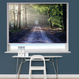 Forest Path Printed Picture Photo Roller Blind - RB789 - Art Fever - Art Fever
