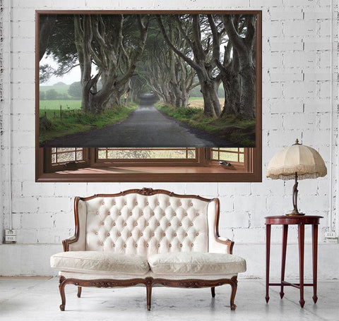 Game of Thrones Forest Printed Picture Photo Roller Blind - RB512 - Art Fever - Art Fever