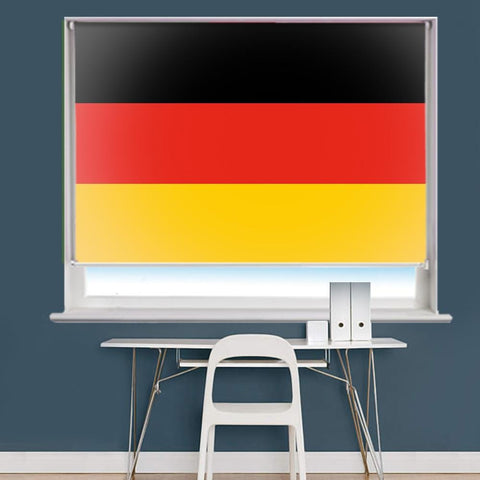 German Flag Printed Picture Roller Blind - RB768 - Art Fever - Art Fever