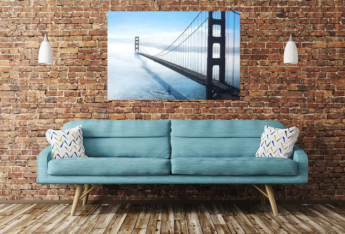Golden Gate Bridge In San Francisco Image Printed Onto A Single Panel Canvas - SPC30 - Art Fever - Art Fever