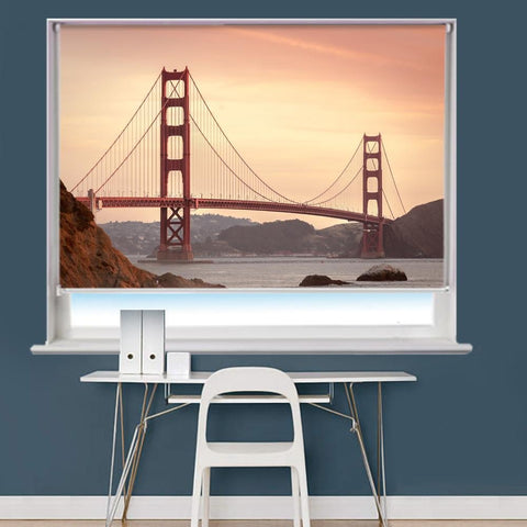 Golden Gate Bridge San Francisco Printed Picture Roller Blind - RB739 - Art Fever - Art Fever
