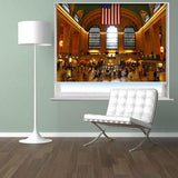 Grand Central Station New York Printed Picture Photo Roller Blind - RB287 - Art Fever - Art Fever