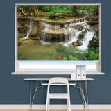 Huay Mae Kamin Waterfall Thailand Image Printed Roller Blind - RB976 - Art Fever - Art Fever