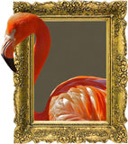 IPF8 - The Flamingo illusion picture frame wall decal - Art Fever - Art Fever