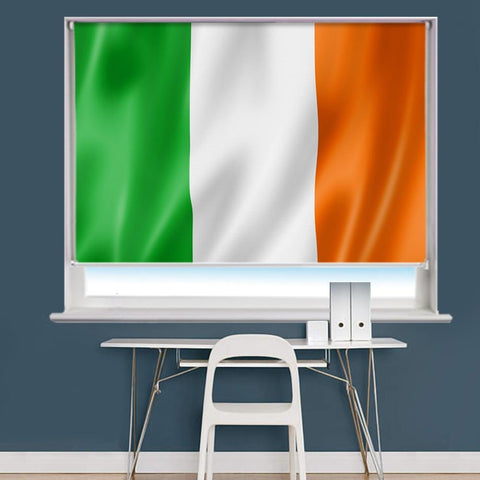 Ireland Irish Flag Printed Picture Roller Blind - RB762 - Art Fever - Art Fever