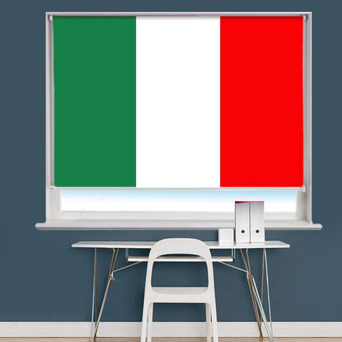 Italian Italy Flag Printed Picture Roller Blind - RB756 - Art Fever - Art Fever