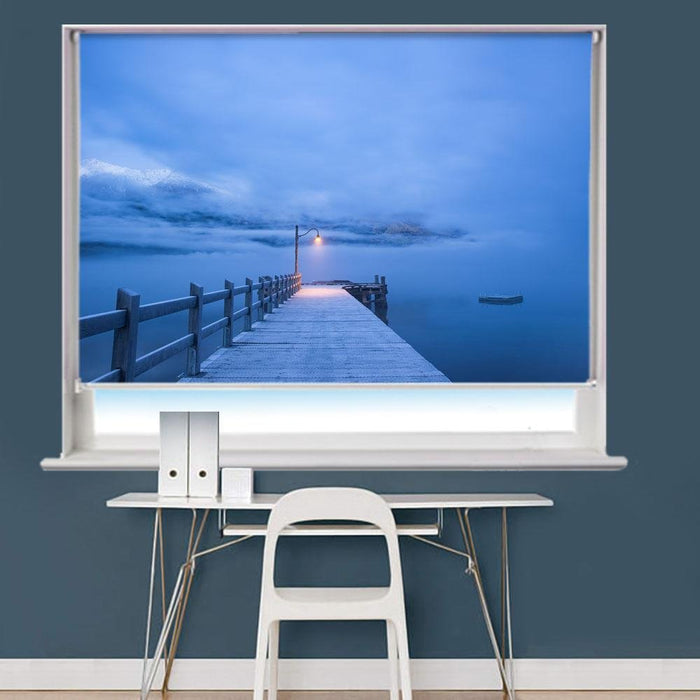 Jetty Pier Ocean Printed Picture Roller Blind - RB771 - Art Fever - Art Fever