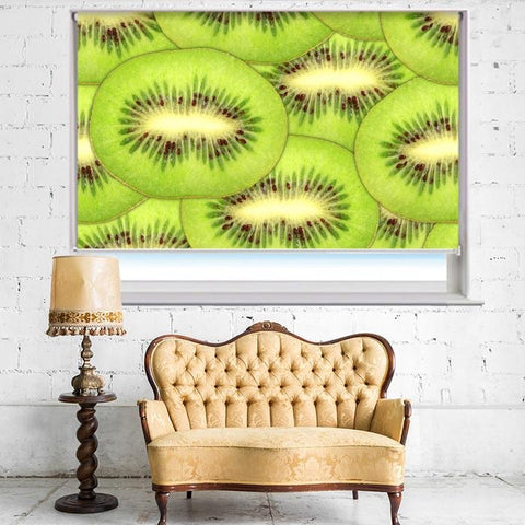 Kiwi Fruit Printed Photo Picture Kitchen Roller Blind - RB408 - Art Fever - Art Fever
