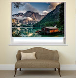Lake Garda in Italy Printed Picture Photo Roller Blind - RB432 - Art Fever - Art Fever