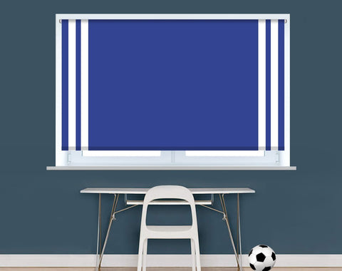 Leicester Football Colours Image Printed Picture Photo Roller Blind - RB9405 - Art Fever - Art Fever