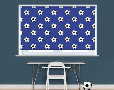 Leicester Football Pattern Image Printed Picture Photo Roller Blind - RB9406 - Art Fever - Art Fever