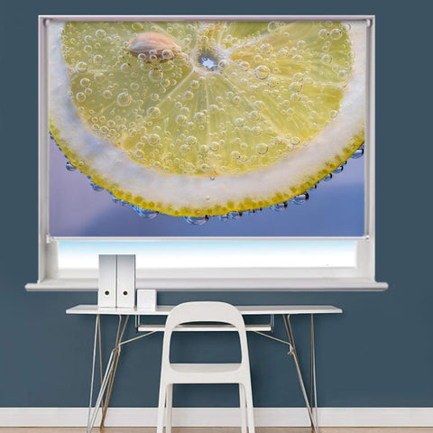 Lemon Image Printed Roller Blind - RB853 - Art Fever - Art Fever
