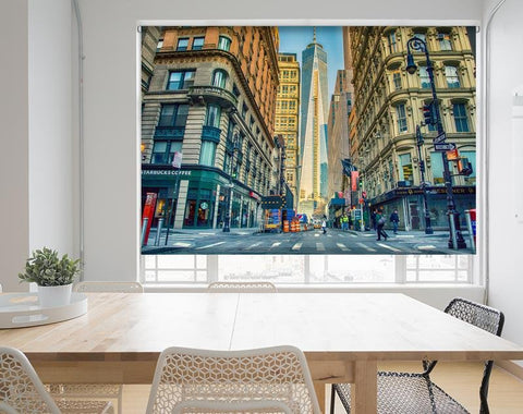 Manhattan New York City View Printed Picture Photo Roller Blind - RB683 - Art Fever - Art Fever