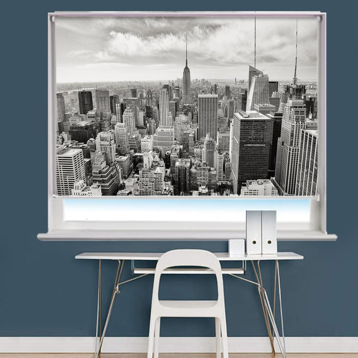 Manhattan Scene Image Printed Roller Blind - RB814 - Art Fever - Art Fever