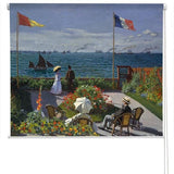 Monet Garden at Sainte-Adresse Art Printed Picture Photo Roller Blind - RB280 - Art Fever - Art Fever