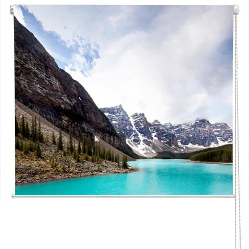 Moraine Lake in Banff National landscape Printed Picture Photo Roller Blind - RB50 - Art Fever - Art Fever