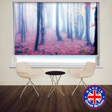 Mystic Light Through the Woods Printed Picture Photo Roller Blind - Art Fever - Art Fever