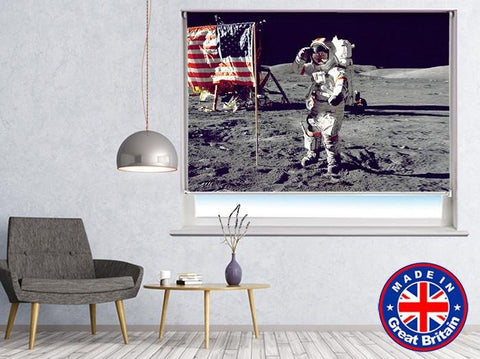 NASA Space Moon Printed Picture Photo Roller Blind - RB550 - Art Fever - Art Fever