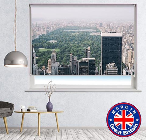 New York Central Park Printed Picture Photo Roller Blind - RB620 - Art Fever - Art Fever