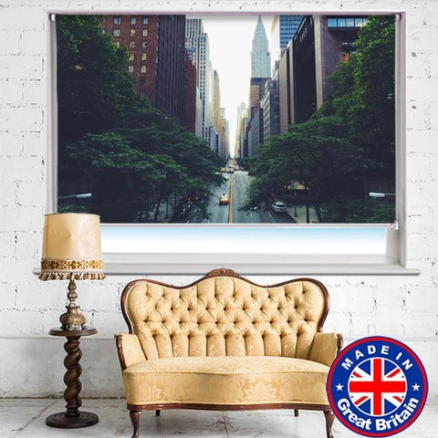 New York City Printed Picture Photo Roller Blind - RB540 - Art Fever - Art Fever