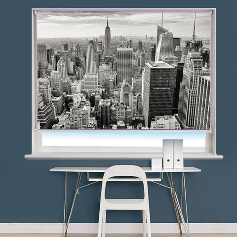 New York City Scene Image Printed Roller Blind - RB823 - Art Fever - Art Fever