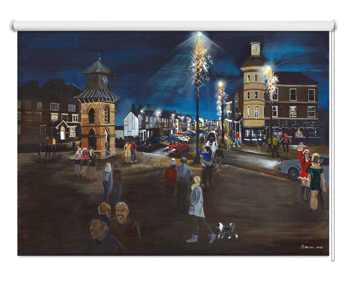"""Nostalgia"" Tynemouth by Pam Morton Printed Roller Blind - RB1113 - Art Fever - Art Fever"