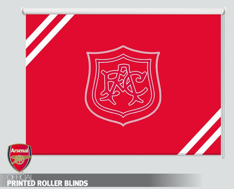 Official Arsenal F.C. Retro 1927 Crest Picture Photo Roller Blind - RB1097 - Art Fever - Art Fever