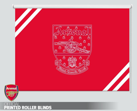 Official Arsenal F.C. Retro 1949 Crest Picture Photo Roller Blind - RB1102 - Art Fever - Art Fever