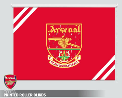 Official Arsenal F.C. Retro 2001 Crest Picture Photo Roller Blind - RB1103 - Art Fever - Art Fever