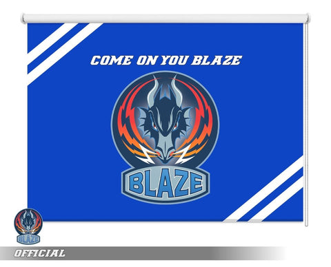 Official Coventry Blaze 'Come on you Blaze' Printed Photo Roller Blind - RB1087 - Art Fever - Art Fever