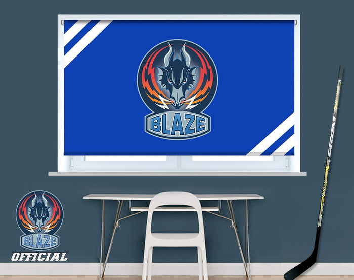 Official Coventry Blaze Crest Design Image Printed Photo Roller Blind - RB909 - Art Fever - Art Fever