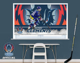 Official Coventry Blaze David Clements Player Image Printed Photo Roller Blind - RB911 - Art Fever - Art Fever