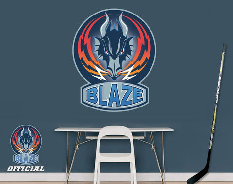 Official Coventry Blaze Ice Hockey Team Wall Sticker - Art Fever - Art Fever