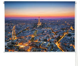Paris at sunset Printed Picture Photo Roller Blind - RB285 - Art Fever - Art Fever