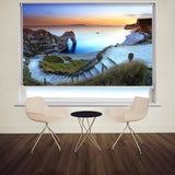 Path to Durdle Door in Dorset at Sunset Printed Picture Photo Roller Blind - RB507 - Art Fever - Art Fever