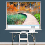 Pathway to the Waterfall Printed Picture Photo Roller Blind - RB707 - Art Fever - Art Fever