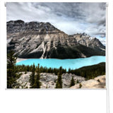 Peyto Lake in Canada Printed Picture Photo Roller Blind - RB45 - Art Fever - Art Fever