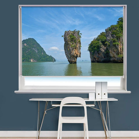 Phang Nga Bay Scene Printed Roller Blind - RB843 - Art Fever - Art Fever