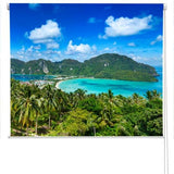 PHI PHI island Printed Photo Picture Roller Blind - RB63 - Art Fever - Art Fever