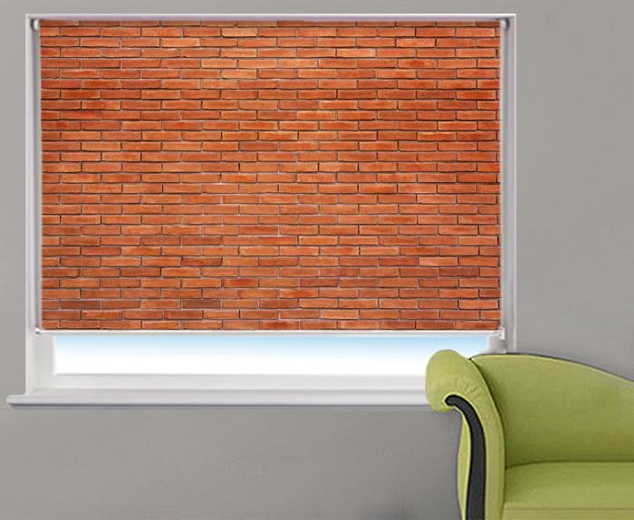 Photo Realistic Brick Printed Photo Picture Roller Blind - RB398 - Art Fever - Art Fever