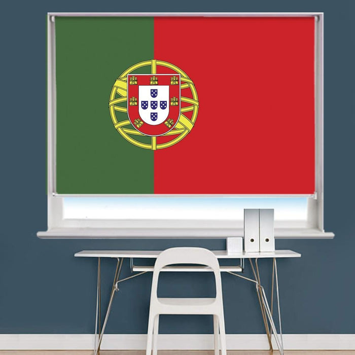 Portugal Flag Printed Picture Roller Blind - RB765 - Art Fever - Art Fever