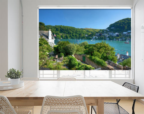 Printed Picture Photo Roller Blind Eveningtime At Dartmouth, Devo - RB1021 - Art Fever - Art Fever