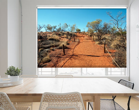 Printed Picture Photo Roller Blind Sunny Day In The Australian Outback - RB1026 - Art Fever - Art Fever