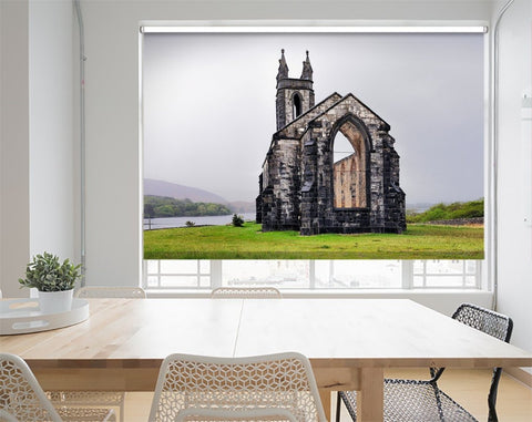 "Printed Picture Photo Roller Blind The Ruined ""Old Church Dunlewy, Donegal, Ireland - RB1017 - Art Fever - Art Fever"