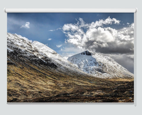 Printed Picture Photo Roller Blind Through The Magical Glen Coe Valley Scotland - RB1016 - Art Fever - Art Fever