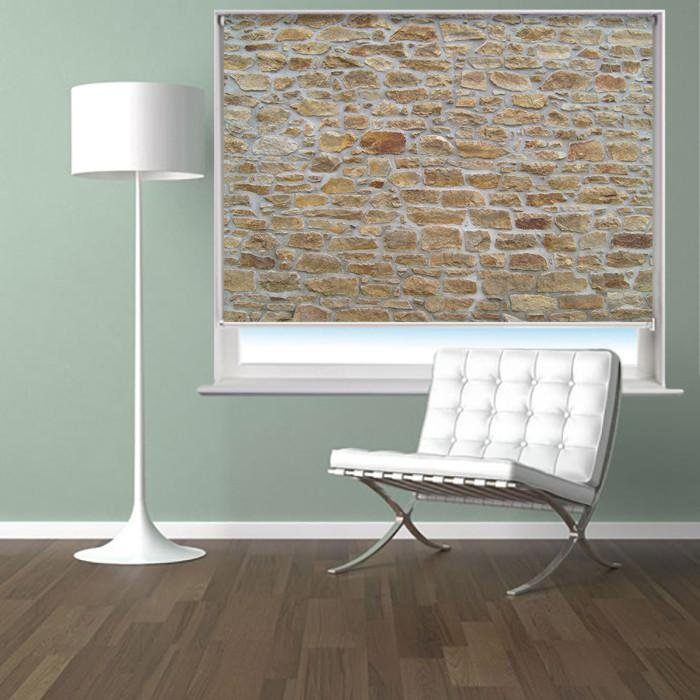 Real Brick effect Photo Picture Roller Blind - RB397 - Art Fever - Art Fever