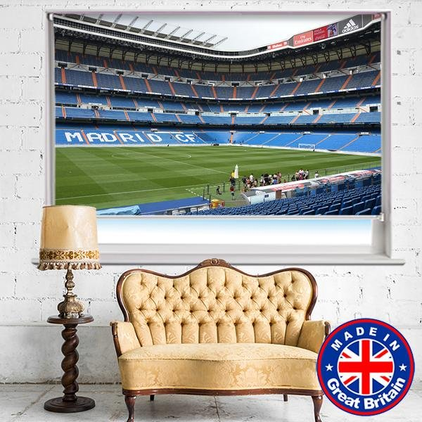 Real Madrid Stadium Santiago Bernabéu Printed Picture Photo Roller Blind - Art Fever - Art Fever
